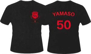 山装50周年Tシャツ ブラック